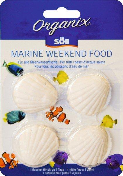 Söll Organix Marine Weekend Food (4 Tabs) Futter für Urlaub & Wochenende