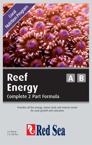 Red Sea Reef Energy Starterkit A&B 2 x 100 ml
