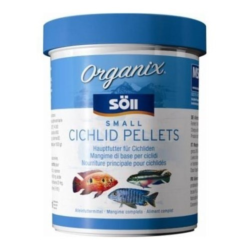 Söll Organix Small Cichlid Pellets 1 Liter Barschfutter