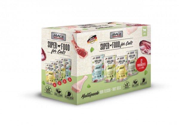 MAC's Cat Multipack Nr.2 12 x 100g Beutel Katzennassfutter