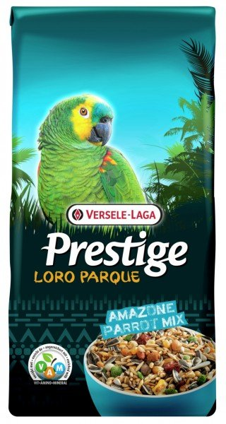 VERSELE-LAGA Prestige Loro Parque Amazone Parrot Mix 15kg Vogelfutter