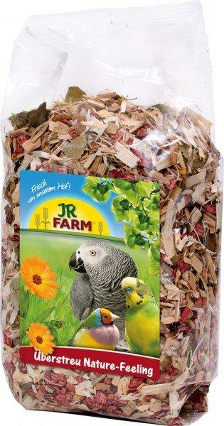 JR FARM Birds Überstreu Nature-Feeling 500g Einstreu für Vögel