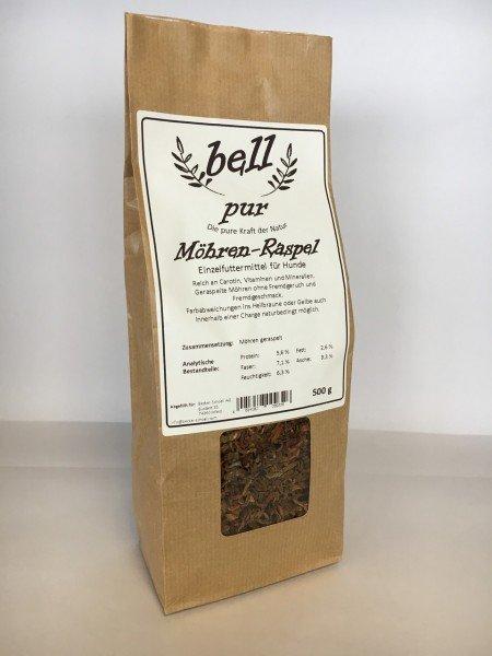 Bell Pur Möhren Raspeln Nahrungsergänzung für Hunde