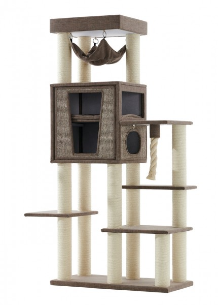 Nobby Kratzbaum Kasil 100x50x203cm braun