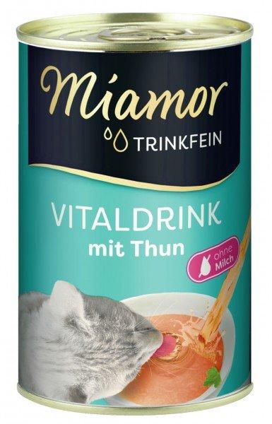 Miamor Trinkfein Vitaldrink 135ml Dose Nahrungsergänzung für Katzen Spezialfutter