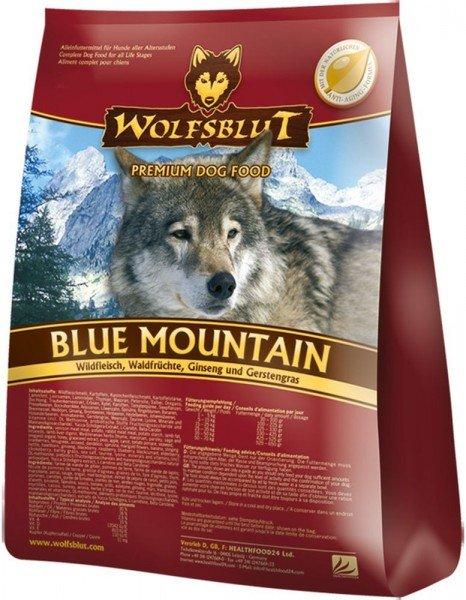 WOLFSBLUT Blue Mountain mit Wildfleisch & Kartoffel Hundetrockenfutter