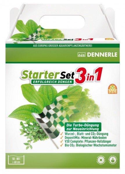 DENNERLE Pflanzendüngung StarterSet 3in1