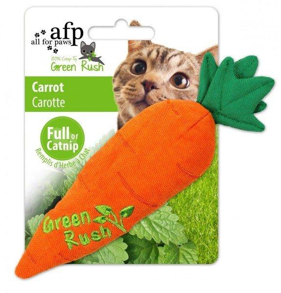 all for paws (afp) Green Rush Carrot mit Katzenminze Katzenspielzeug