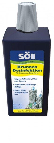 Söll Brunnendesinfektion 1 Liter für bis zu 2.000 Liter