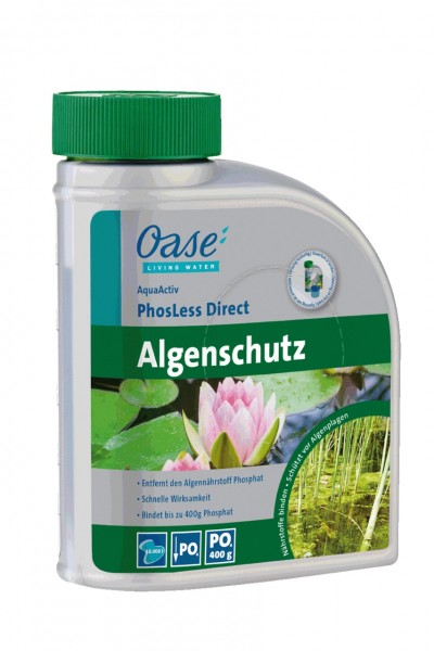 Oase AquaActiv PhosLess Direct 500 ml Algenschutz