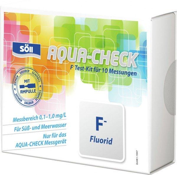 Söll AQUA-CHECK F- Fluorid Test-Kit für 10 Messungen