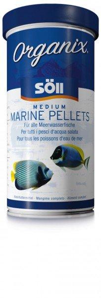 Söll Organix Medium Marine Pellets 490ml Hauptfutter für Meerwasserbewohner