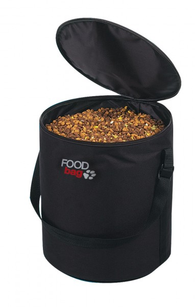 TRIXIE Foodbag Nylon-Beutel schwarz für 25 kg Futter
