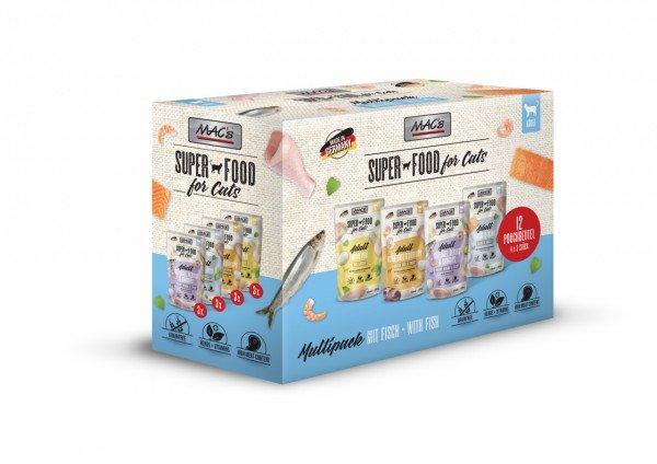 MAC's Cat Multipack Nr.1 12 x 100g Beutel Katzennassfutter