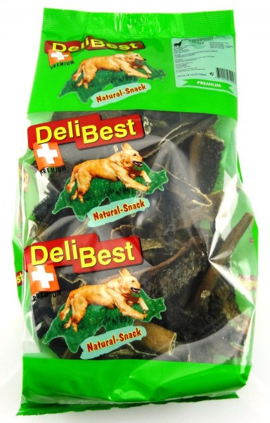 DeliBest Lammpansen Premium 1kg Hundekauartikel
