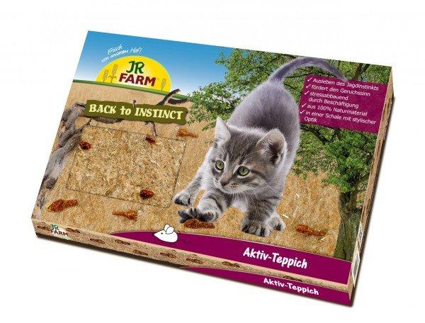JR FARM Cat Back to Instinct Aktiv-Teppich für Katzen