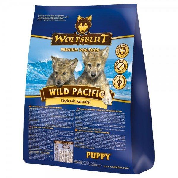 WOLFSBLUT Wild Pacific Puppy Fisch mit Kartoffel 2kg Hundetrockenfutter