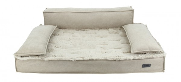 Nobby Orthopädisches Sofa NUKA eckig beige 92 x 65 x 10cm