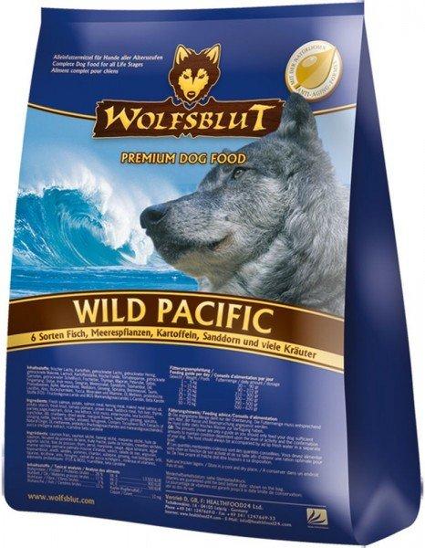 WOLFSBLUT Wild Pacific mit 6 Sorten Fisch Hundetrockenfutter