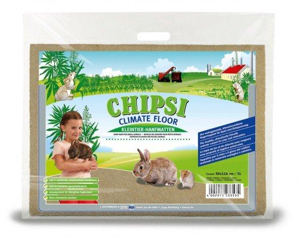 CHIPSI Climate Floor Kleintier-Hanfmatte XL 50 x 115 cm