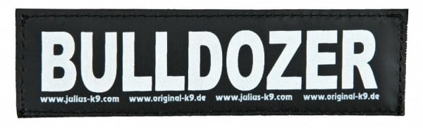 Julius-K9 Sticker Größe 2 Zubehör für Hundegeschirr