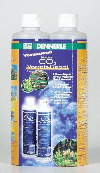 DENNERLE Bio CO2 Vorrats-Depot Vorteilspack