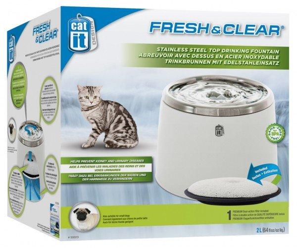 catit Fresh & Clear Trinkbrunnen 2 Liter