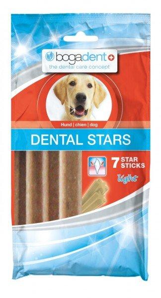 bogadent DENTAL STARS 180g (7 Stück) Zahnpflege Hundekauartikel