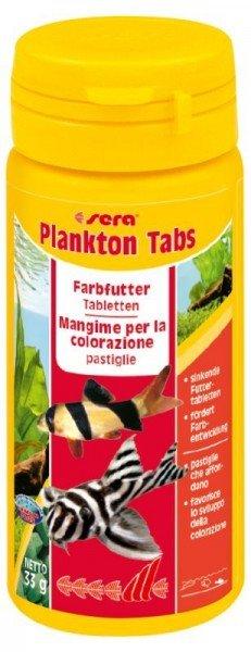 sera Plankton Tabs 50ml Farbfutter Tabletten
