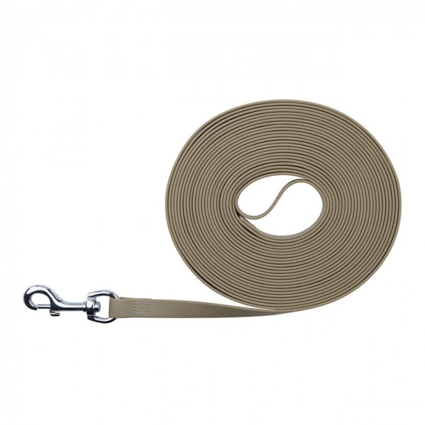TRIXIE Easy Life Schleppleine 10 m / 17 mm taupe
