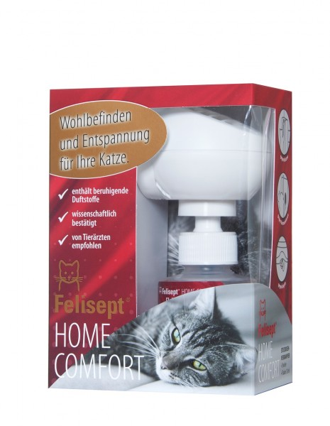 Felisept Home Comfort Steckdosen-Verdampfer Set (Diffusor & Flakon)