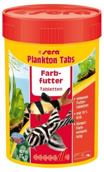 sera Plankton Tabs 100ml Farbfutter Tabletten