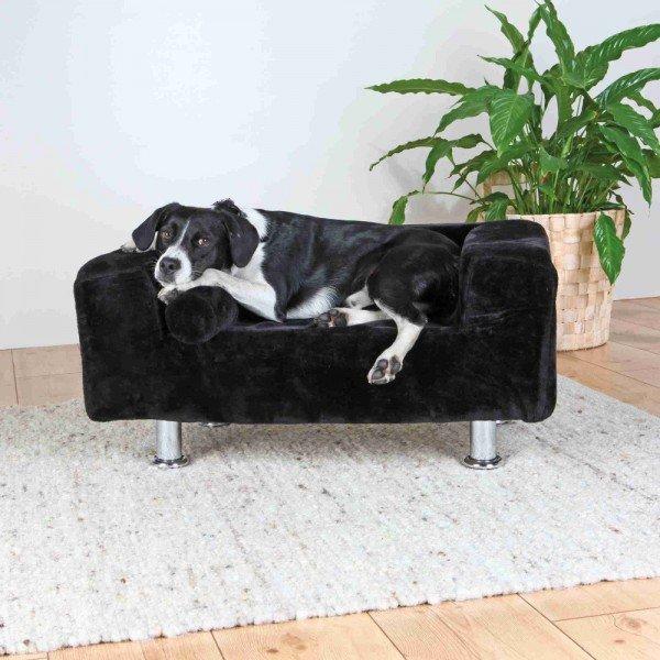 TRIXIE Hundekönig Sofa 78x55cm schwarz