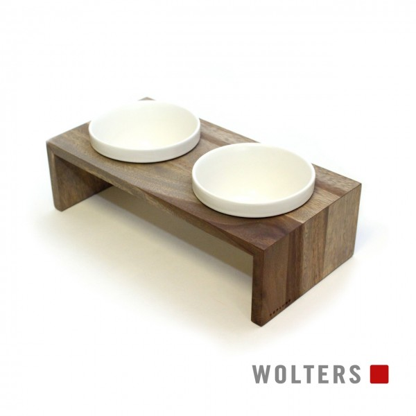 Wolters Gohan Doppelnapf XS 2 x 0,2 Liter schiefer