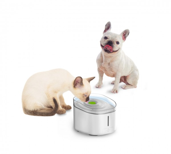 all for paws (afp) Ultimate Pet Fountain UV 3l Katzen- und Hundetrinkbrunnen mit UV