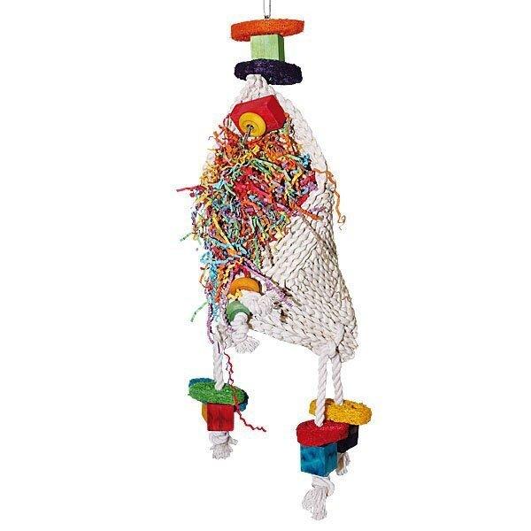 Simsalabim-ein Zauberhut Spielzeug für Papageien