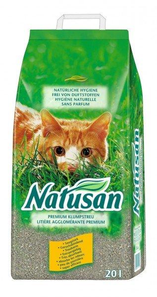 Natusan Premium Klumpstreu 20 Liter Katzenstreu