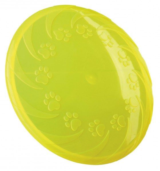 TRIXIE Dog Disc thermoplastisches Gummi (TPR) ø 18 cm Hundespielzeug
