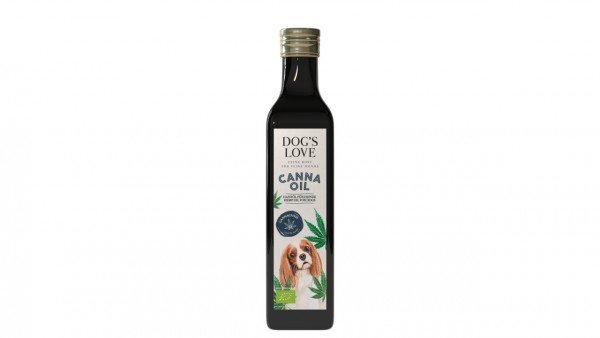 Dog's Love Canna Oil Bio Hanföl 250ml Ergänzungsfutter