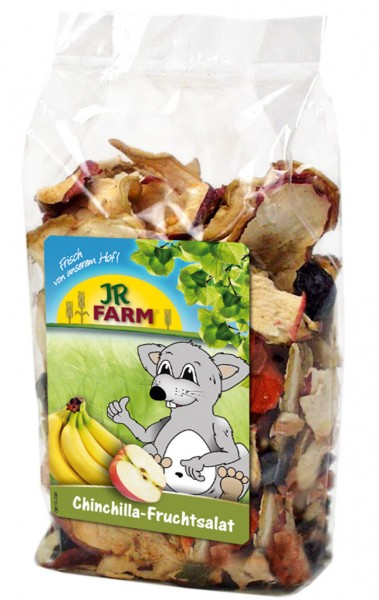JR FARM Chinchilla-Fruchtsalat 125g Kleintiersnack