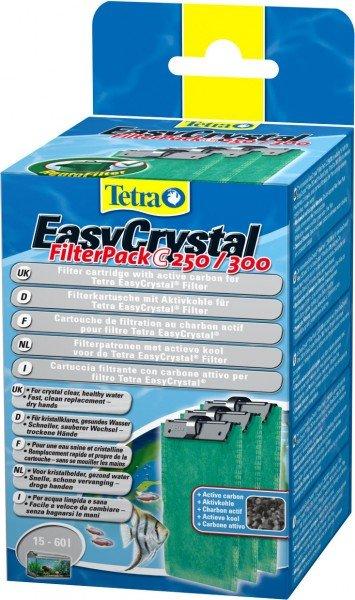 Tetra EasyCrystal Filter Pack C250/300 Filtermedium mit Aktivkohle