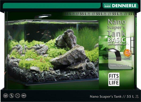 DENNERLE Nano Scaper's Tank Basic 55l Aquariumset