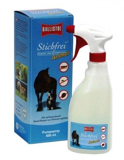 Ballistol Stichfrei Animal 600ml Pumpspray Mücken-, Zecken- & Bremsenschutz für Tiere