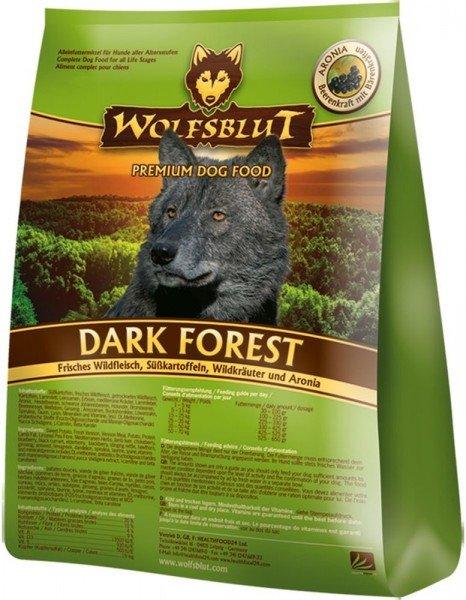 WOLFSBLUT Dark Forest mit Wildfleisch & Süßkartoffel Hundetrockenfutter