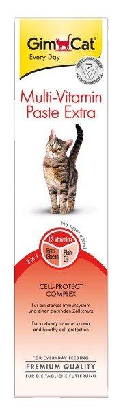 GimCat Multi-Vitamin Paste Extra 100g Nahrungsergänzung für Katzen