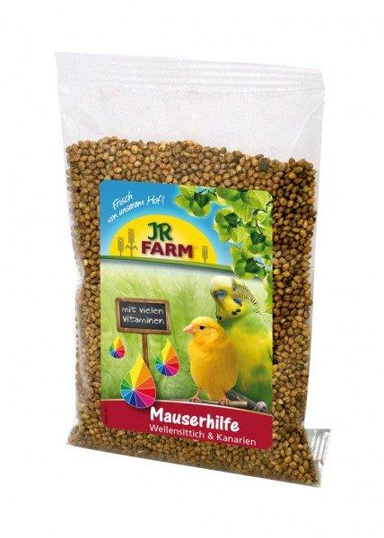 JR FARM Birds Mauserhilfe Wellensittich & Kanarien 30g Nahrungsergänzung für Vögel