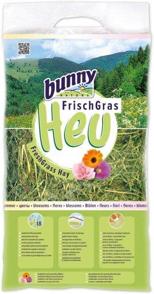 Bunny Frischgras-Heu Blüten 500g Kleintierfutter