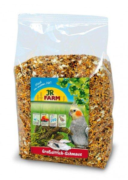 JR FARM Birds Großsittich-Schmaus 1kg Vogelfutter