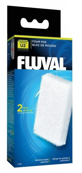 FLUVAL U2 Schaumstoff-Filtereinsatz U2 (2 Stück)