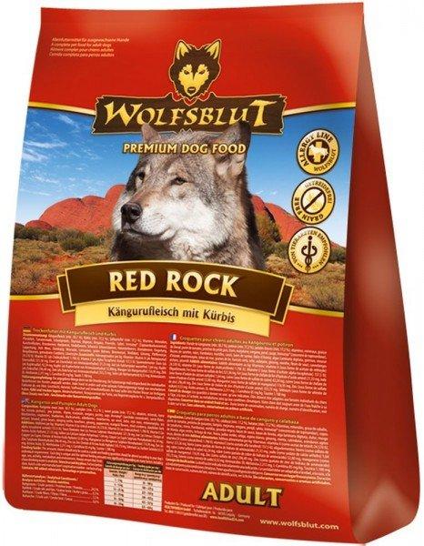 WOLFSBLUT Red Rock Kängurufleisch mit Kürbis und Süßkartoffel Hundetrockenfutter